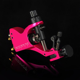 Wholesale Rotary Tattoo Pink - solong tattoo Rotary Tattoo Machine Gun Stigma Bizarre V2 with 3 Stroke Excenter Bright Pink