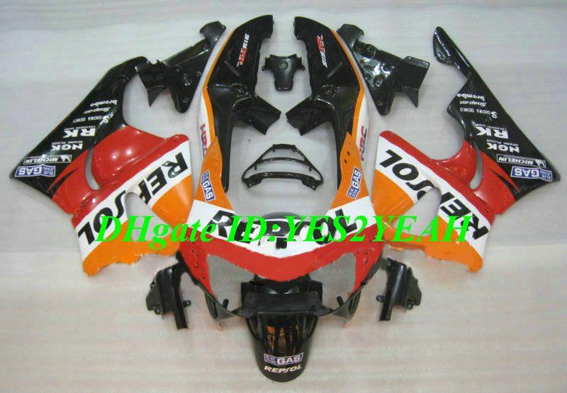 Fairing Kit voor HONDA CBR900RR 98 99 CBR 900RR CBR900 CANDWERK CBR 900 RR 919 1998 1999 REPSOL FUNLINGS BODY KIT + Geschenken HS22