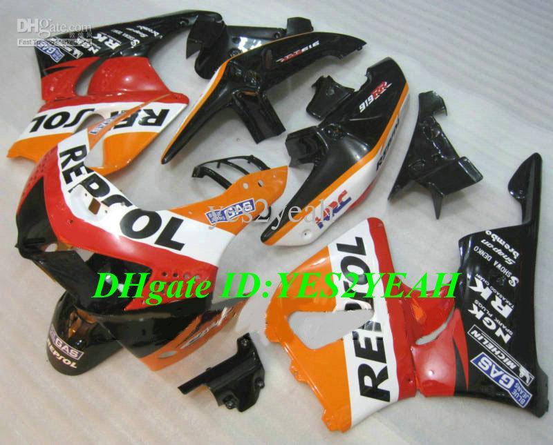 Verkleidungskit für HONDA CBR900RR 98 99 CBR 900RR CBR900 Karosserie CBR 900 RR 919 1998 1999 REPSOL Verkleidungsset + Geschenke Hs22