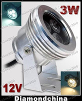 Wholesale underwater lights 3w resale online - LLFA1661 W LED Outdoor Flood Light Hight Light LED Underwater Light Waterproof IP68 Floodlight Lamp V
