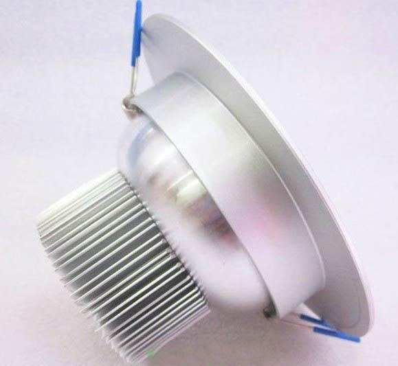 9W LED Downlights High Power Plafond Down Lights met 9eds 9 Watt Down Lighting WW / CW / NW Lichtlamp 2 jaar garantie / Via Express