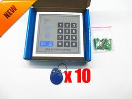 Canada Système de contrôle d'accès de serrure de porte d'entrée de proximité RFID + 10 porte-clés Offre