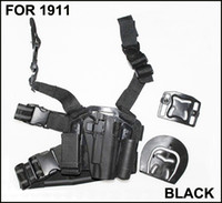 Wholesale 1911 Drop Leg Holsters - Drop Leg Serpa Tactical Platform + Holster for 1911+ Free Shipping