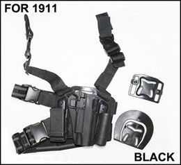 Wholesale Leg Holster 1911 - Drop Leg Serpa Tactical Platform + Holster for 1911+ Free Shipping