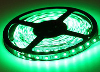 Water Proof 5m / roll 300LED 3528 SMD 12V Flexible Light 60led / m, LED strip, Warm White / Blue / Green / Red / Yellow