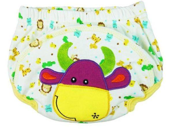 Big Discount Animal Sassy 3-Layer Baby PP Hosen Höschen Trainingshosen Baby Lernhosen waschbar Baby Baumwolle Unterwäsche = 2 Farbe wählen
