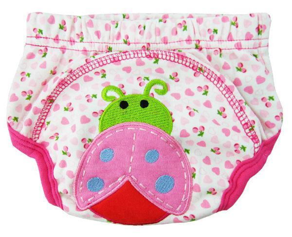Grote Discount Dier Sassy 3-Layer Baby PP Broek Slipjes Trainingsbroek Baby Leren Broek Wasbare Baby Katoen Ondergoed = 2 Kleur Pick