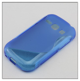 Wholesale Case Cover Fame - S Line Soft TPU Gel Case Cover For Samsung Galaxy Fame S6810 500pcs lot