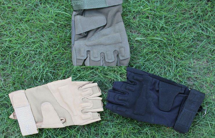 Trasporto libero di nuovo arrivo mezzo dito Tactical Weather Shooting Militare Ciclismo caccia Camping Sport Outdoor Guanti Gioco i