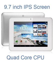 Vente en gros - DHL Freeshipping 9,7 pouces HD IPS écran Quad Core A31S tablette Android 4.1 Allwinner A31S 1,2 GHz 1 Go / 8 Go double caméra HDMI AMPE