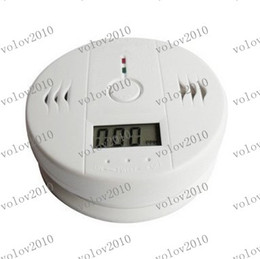 Wholesale Fire Carbon - LLFA1681 S5Q LCD CO Carbon Monoxide Detector Poisoning Gas Fire Warning Alarm Sensor New Free Shipping AAABAP00WT