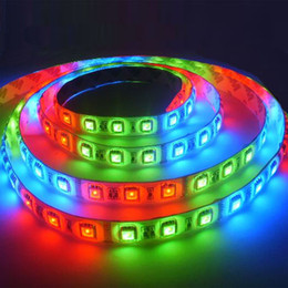 Wholesale Running Free Horses - FREE SHIPPING-direct factory!5050 RGB HORSE RUNNING LIGHT led strip Water proof 54LED Meter 5M in one roll