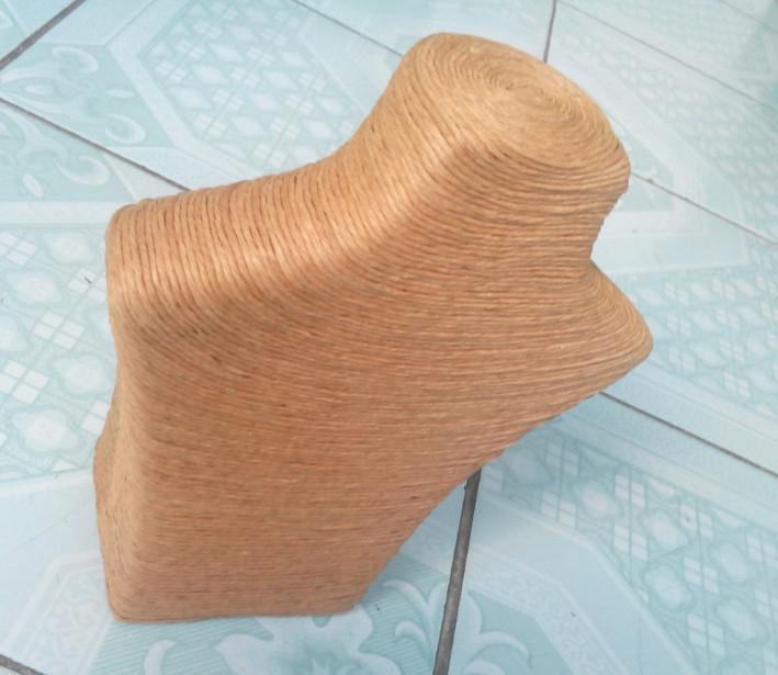 Manichini Intreccio di gioielli Display Stand Maglione Catena Collo Modalità Collana Mensola Espositore da uomo
