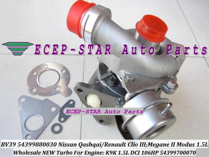 Renault Clio IIIのためのターボターボチャージャー;メガネII Modus Qashqai K9K 1.5L 1.5DCIのためのターボターボチャージャー