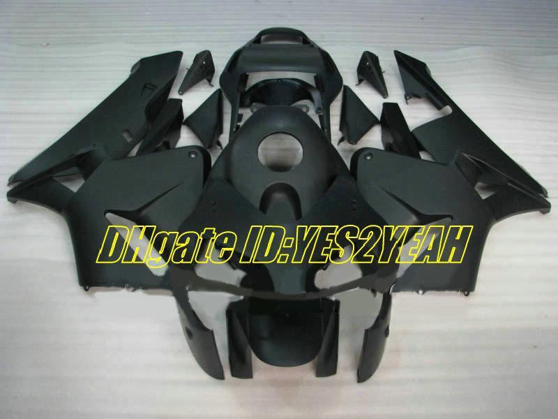 Verkleidungskit für HONDA CBR600RR 03 04 CBR 600RR Karosserie CBR600 RR F5 2003 2004 alle mattschwarz Verkleidungsset + Geschenke HG25