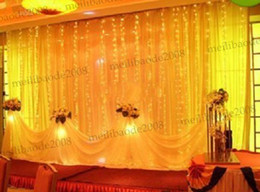 Wholesale 8m Light Curtain - 1024 LED lights 8m*4m Curtain Lights,Christmas ornament light,Fairy Wedding Flash LED Colored lights MYY5313