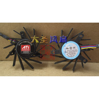 Wholesale Ball Ati - ATI PLB05710B12H 12V 0.2A dual ball bearing cooling fan thermostat plug 4P