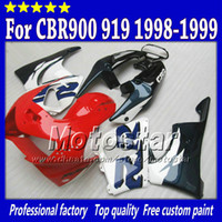 Wholesale 919 fairing - High quality aftermarket parts for HONDA fairing body kit CBR900RR 919 CBR 1999 CBR919RR 1998 CBR919 98 99 custom ABS fairing