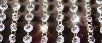 grânulo de cristal guirlanda venda por atacado-New Acrílico Cristal Garland Strand Cadeia Pendurado Diamante Bead Decor Casamento