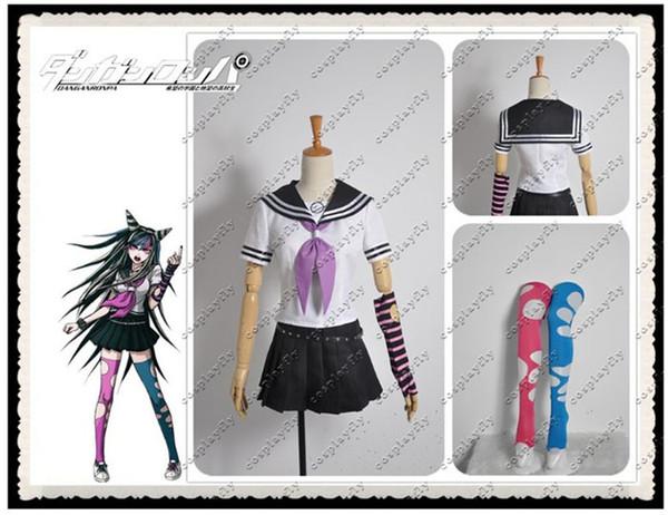 new arrival custom made danganronpa dangan ronpa ibuki mioda cosplay