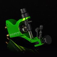 Wholesale Stigma V2 Rotary Tattoo Machine - Pro Rotary Tattoo Machine Gun Stigma Bizarre V2 with 3 Stroke Excenter Nuclear Green Color