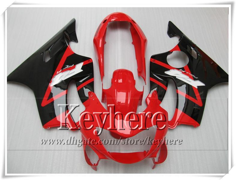 Rood Black Carrosserie Set voor CBR 600 99 00 HONDA CBR600 F4 1999 2000 Personaliseer Motorfietsen Kit met 7Gifts VT9