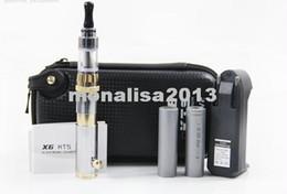 Wholesale E Cigarettes Kts Mod - DHL FREESHIPPING VV Mod KTS E cigarette starter kit with X8 clearomizer, KTS GGTS Gold  Chrome Mix Color E cig With 2*2000mah