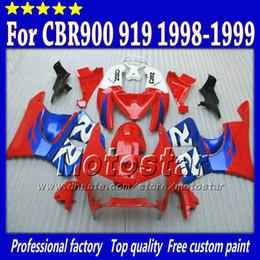 Honda Custom Parts NZ - Road racing bodywokr parts for HONDA fairing body fairings CBR900RR 919 CBR 1999 CBR919RR 1998 CBR919 98 99 custom abs fairing