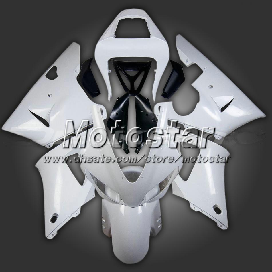 Gepolijste ongeverfde kluizen voor Yamaha 1998 1999 YZF R1 98 99 YZFR1 98 99 YZF R1 Fairing-kits met geschenken YZF-R1