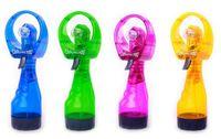 enfriador de agua deportivo al por mayor-Mist Sport Beach Camp Travel Portátil Mini Fashion Spray de agua Enfriamiento Cool Fan
