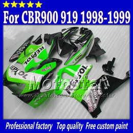 $enCountryForm.capitalKeyWord NZ - 7Gifts white green black Repsol fairings kit for honda CBR900RR919 CBR 1999 CBR919RR 1998 CBR919 98 99 custom abs fairing parts