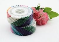 ingrosso perle per cucire-New 480pcs Multi colore Round-Head Faux Pearl Pin decorazione Pin cucito