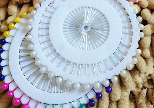 Nieuwe 480 stks Multi Color Round-Head Faux Pearl Decorating Pin Dressing Sewing Pin