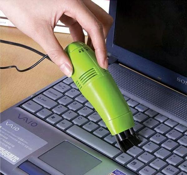 Pratique MiniUSB Aspirateur Clavier Cleaner pour PC Ordinateur Portable Ordinateur Poussière Collecteur Livraison Gratuite