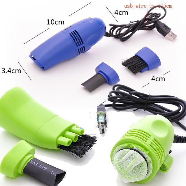 Convenient MiniUSB Vacuum Keyboard Cleaner for PC Laptop Computer Dust Collector