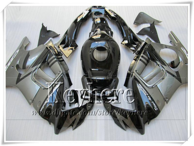 ABS niedriger preis grau schwarz verkleidung kit für Honda CBR600 97 98 CBR 600 1997 1998 F3 verkleidungen benutzerdefinierte motorrad teile mit 7 geschenke Fk40