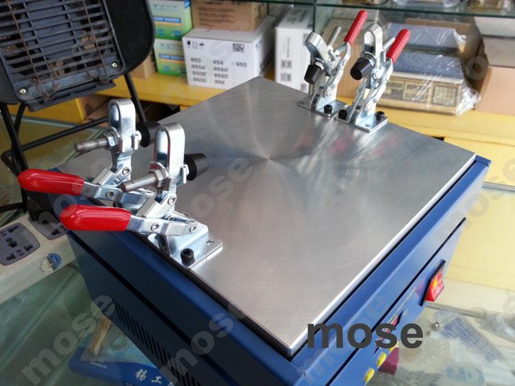 Volledige setmachine voor scheiden van de spiegellens van het LCD-digitizer Touch voor iPhone Samsung Note2 7100 LCD-schermafscheider