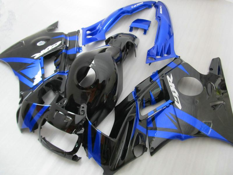Beliebte schwarz blau F2 91 92 93 94 cbr600 Verkleidung Bodykits für Honda CBR 600 1991 1992 1993 1994 Verkleidungen Karosserie mit 7 Geschenke Pj57