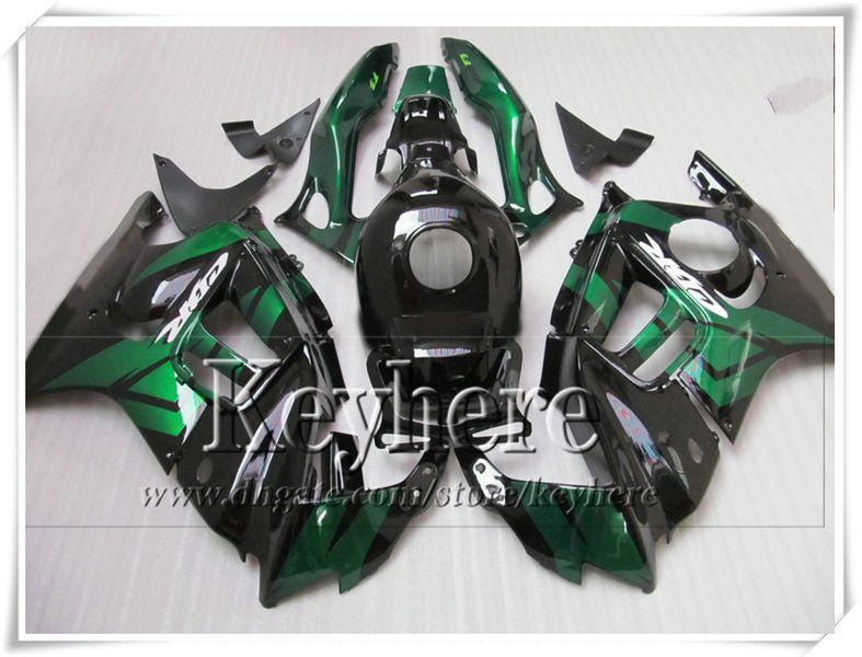 Freies 7 Geschenke grün schwarz fertigen Motorrad Verkleidungskit für Honda CBR 600 95 96 CBR600 1995 1996 F3 Verkleidungen gesetzt Ky4