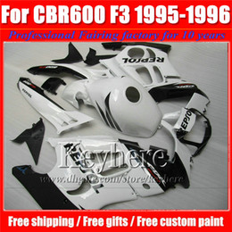 $enCountryForm.capitalKeyWord NZ - High quality ABS fairing bodywork for 95 96 Honda CBR 600 CBR600 F3 1995 1996 fairings black white REPSOL motobike parts with 7 gifts Ky30