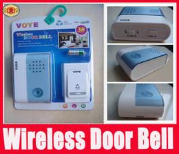 Wholesale Wireless Door Entry - Wireless Cordless Musical Melody Doorbell Door Bell Chime Digital 38 Songs Intelligent Flashlight Door Entry alarm