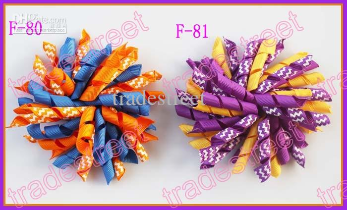 NEw 4''korker hair bows SEW ones corker hair clips boutique corker hair clips white