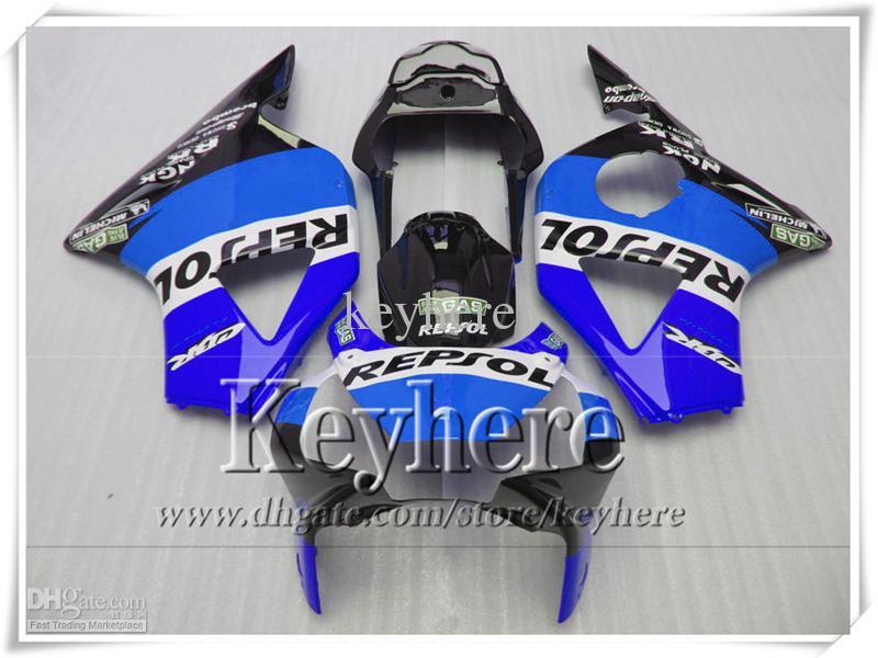 REPSOL blue body kit CBR900RR 954 2002 2003 954RR CBR954RR fairings kit 02 03 CBR 900RR fairing bodywork for Honda with 7gifts SY43