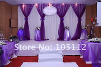 Wholesale Organza Wedding Background Decoration - ORGANZA For background Backdrops of wedding decoration, Chair Organza 110 meters roll, 24 colors For U Pick
