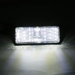 rectangle led reflectors prices - 2* White Rectangle LED Reflectors Brake Light Universal Motorcycle Rectangles bicycle Rectangles bike Rectangle car Rectangles auto Rectangl