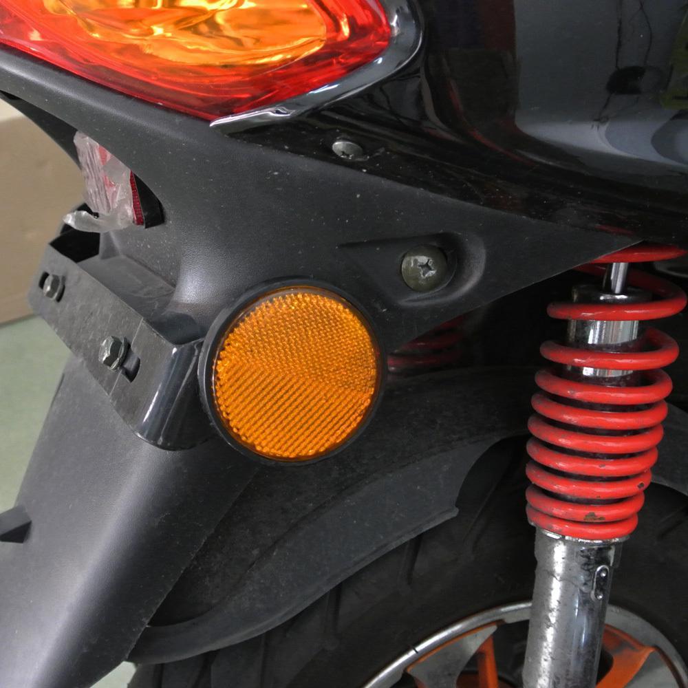 25% RABATT ! * gelbe linse bernstein licht LED Reflektoren Runde Blinker Licht Universal Motorrad Auto Auto