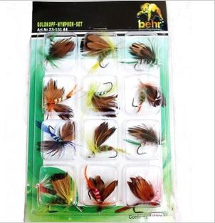 pesca con mosca señuelo pesca moscas moscas gancho / pack