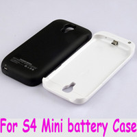 Wholesale External Back Up Battery Case - For Samsung Galaxy S4 Mini i9190 power bank back Cover battery case Back up External Emergency Phone Charger