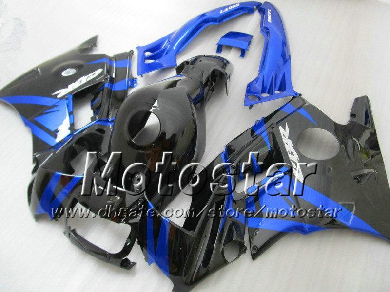 for HONDA cbr600 f2 91 92 93 94 CBR600F2 fairings set 1991-1994 CBR 600 fairing bodywork dark blue in glossy black su105