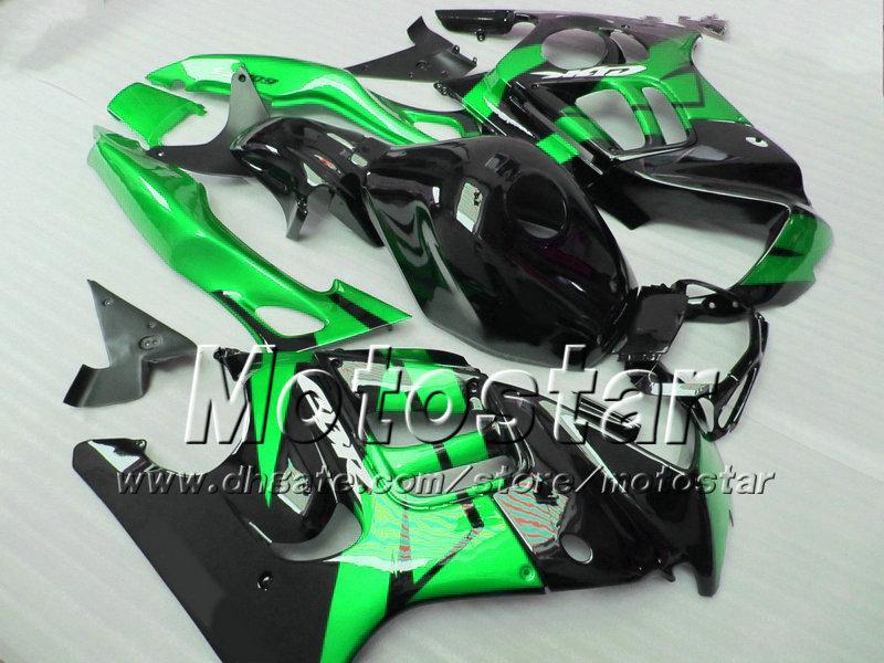 Aangepast voor HONDA CBR600 F3 VERICHTINGEN SET CBR 600 F3 1997 1998 CBR 600F3 ABS KRIJZEN 97 98 Glanzend Groen Wit Zwart